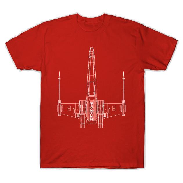 3D X-wing T-Shirt