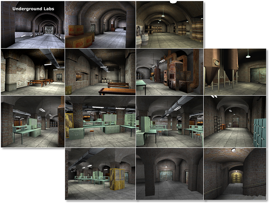 Mirena Rhee - 3d modeling and lighting for XXX2 for PS2