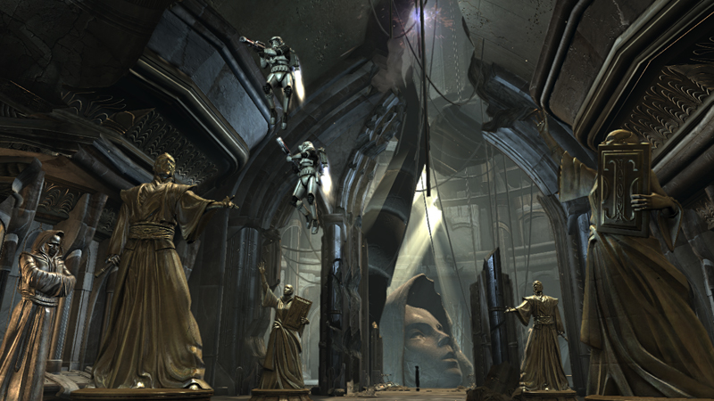 Star Wars: The force Unleashed Jedi Temple