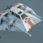 Game Ready Star Wars T-47 Airspeeder (Snowspeeder)