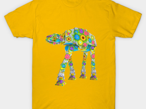 Flowery AT-AT Tshirt