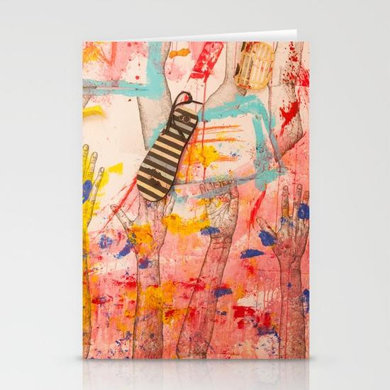 Flip Flop Stationery Cards - Mirena Rhee