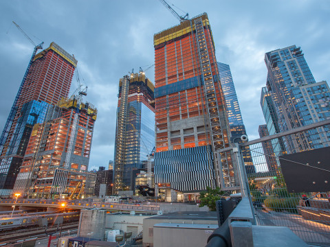 Hudson Yards in New York photographed by Mirena Rhee